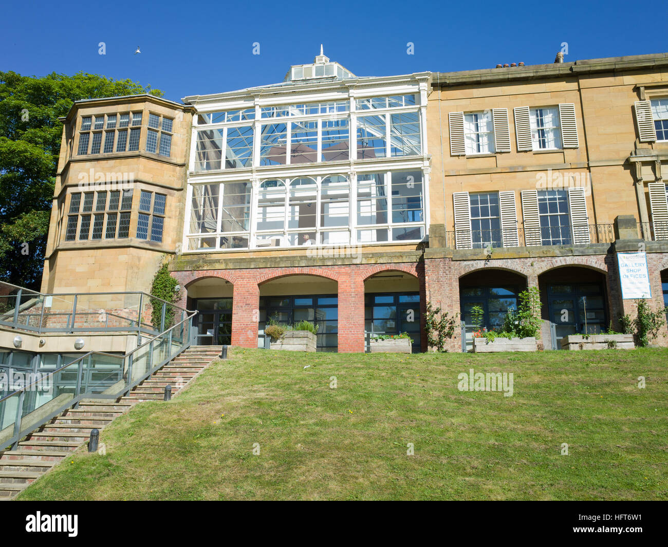 Woodend Creative Space Scarborough UK Grade II listed building - Stock Image