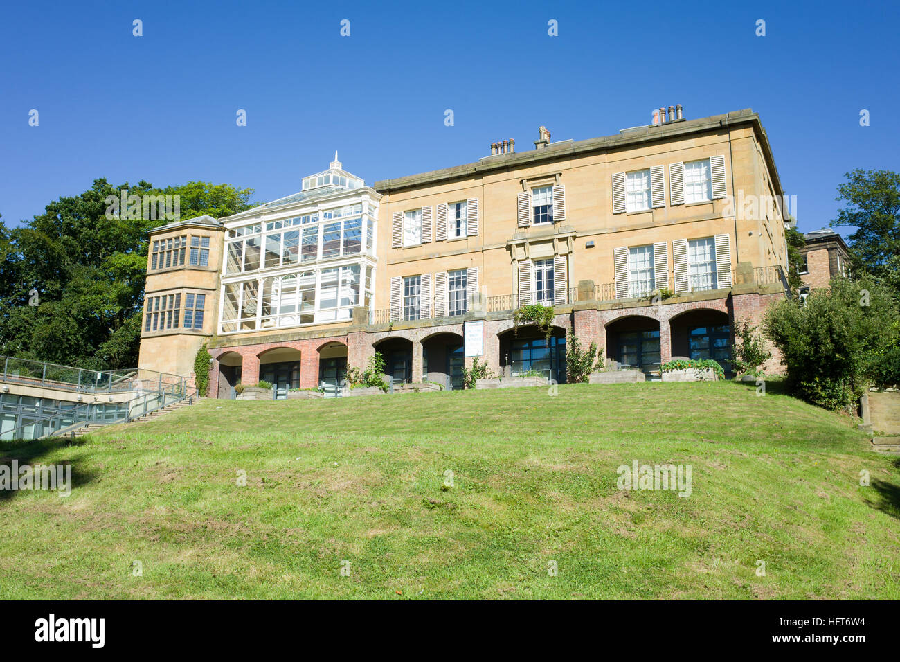 Woodend Home to Sitwell family 1870 1934, The house was built 1835 Grade II listed Scarborough North Yorkshire UK - Stock Image