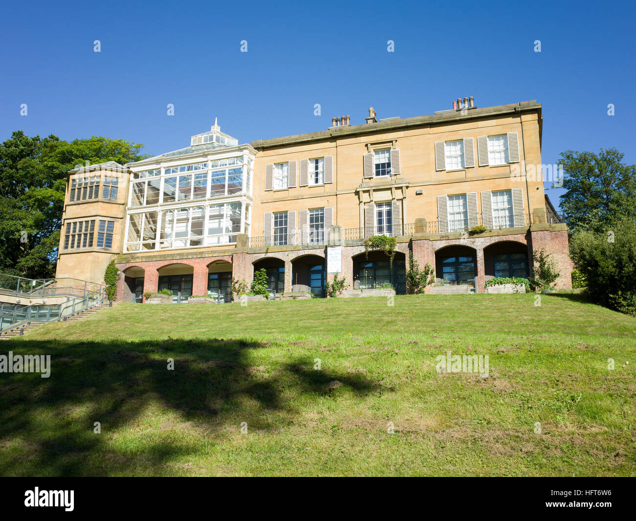 Woodend Scarborough UK Previous home to Sitwell family 1870 to 1934 and also a natural History Museum House was - Stock Image
