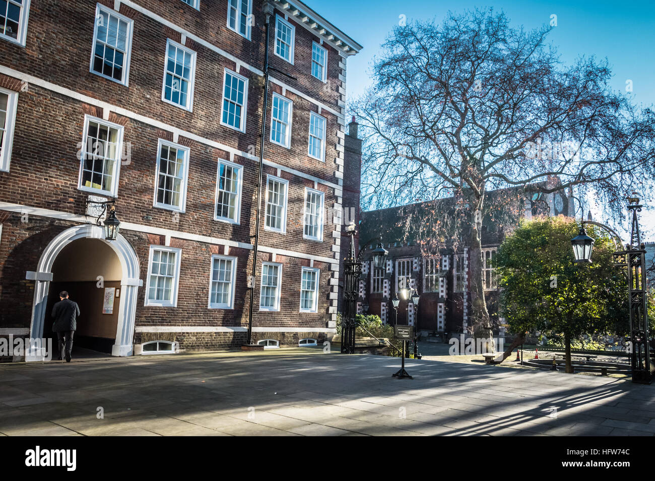 Middle Temple Hall, Inns of Court, London, UK, Stock Photo