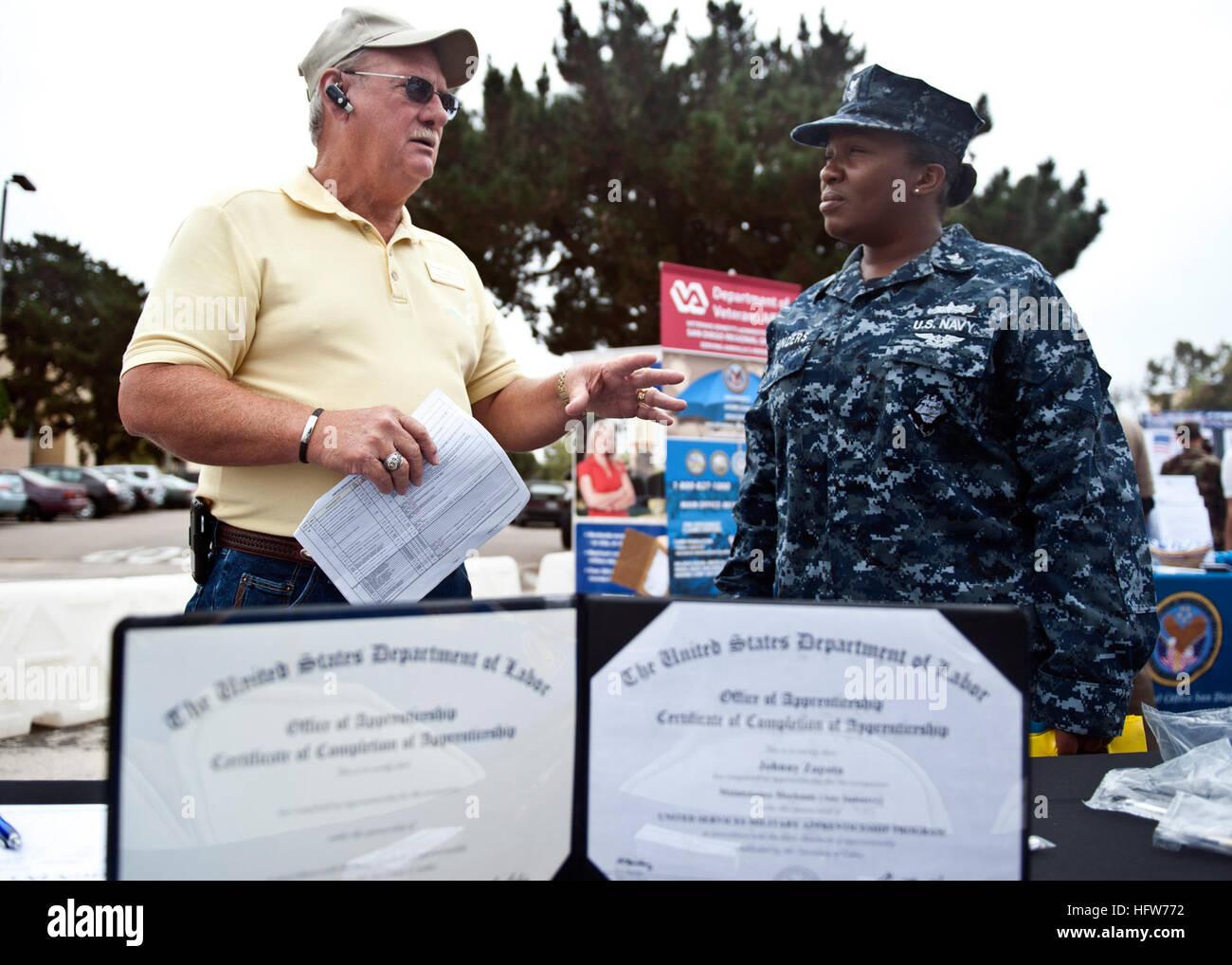 110727-N-PB383-081 SAN DIEGO (July 27, 2011) Kenneth Ledbetter Stock ...
