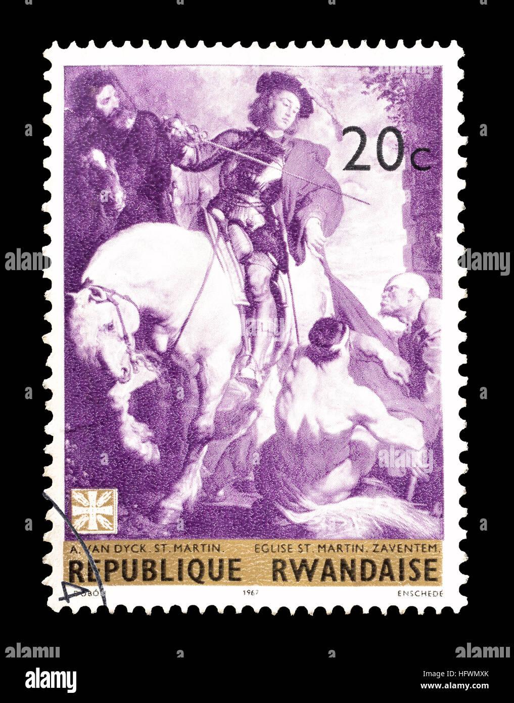 Rwanda 1967 - Stock Image