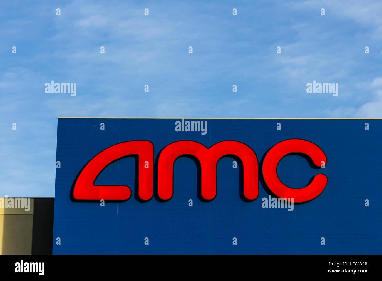 Las Vegas - Circa December 2016: AMC Movie Theater Location. AMC Theaters is an American Movie Theater Chain VI - Stock Image