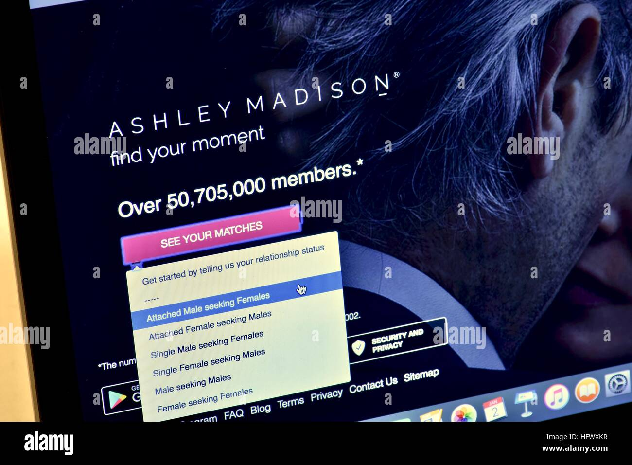 ashley madison hookup ticket