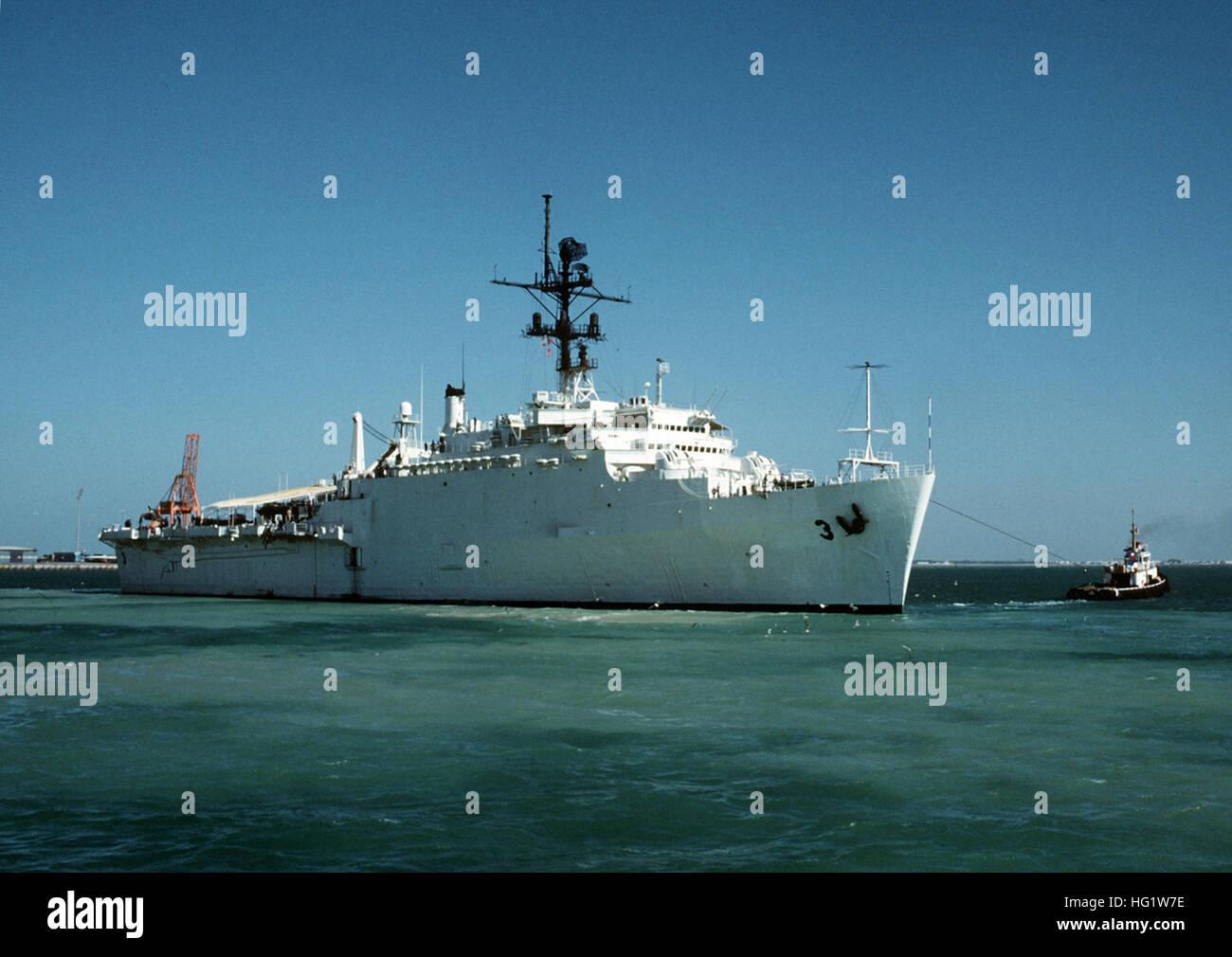 USS LA SALLE AFG 3 Street Sign U S Navy USN Military