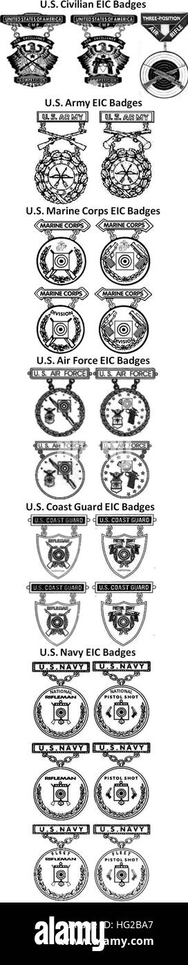 Military Badges Black and White Stock Photos & Images - Alamy