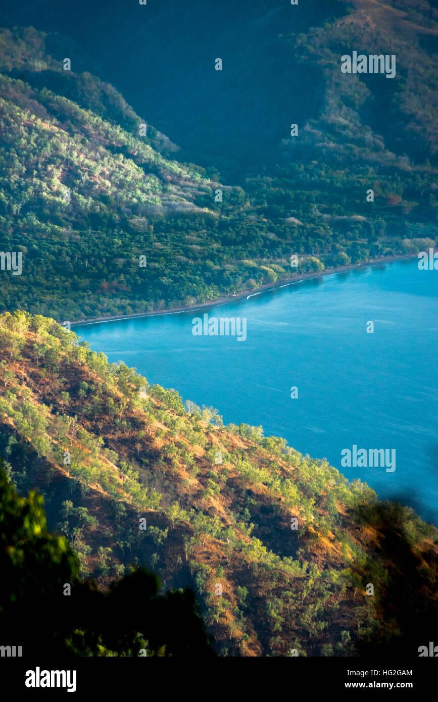 The coastline of southern Lembata Island, Indonesia. © Reynold Sumayku - Stock Image