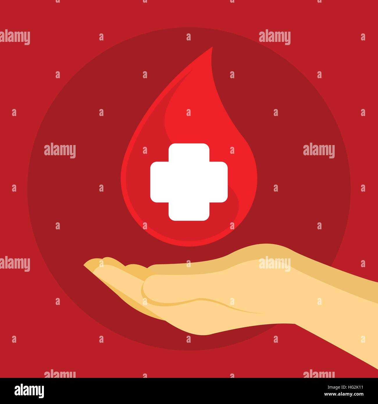 donate blood saves lives - Stock Image