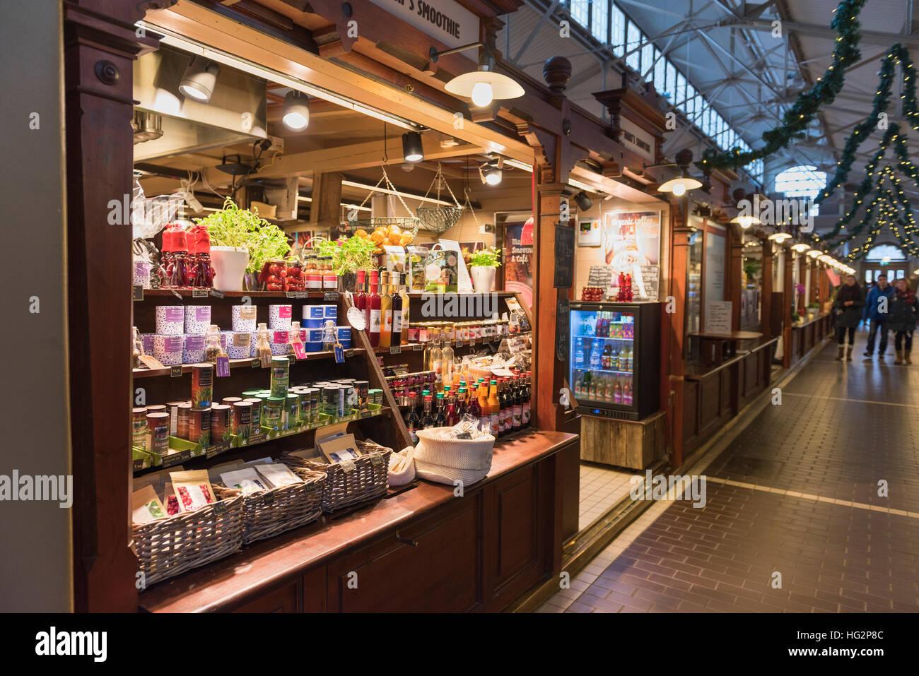 Old Market Hall Helsinki Finland - Stock Image