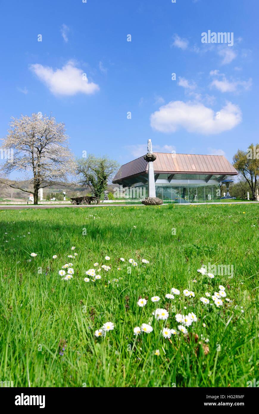 Winden am See: Wander Bertoni open air museum, , Burgenland, Austria - Stock Image