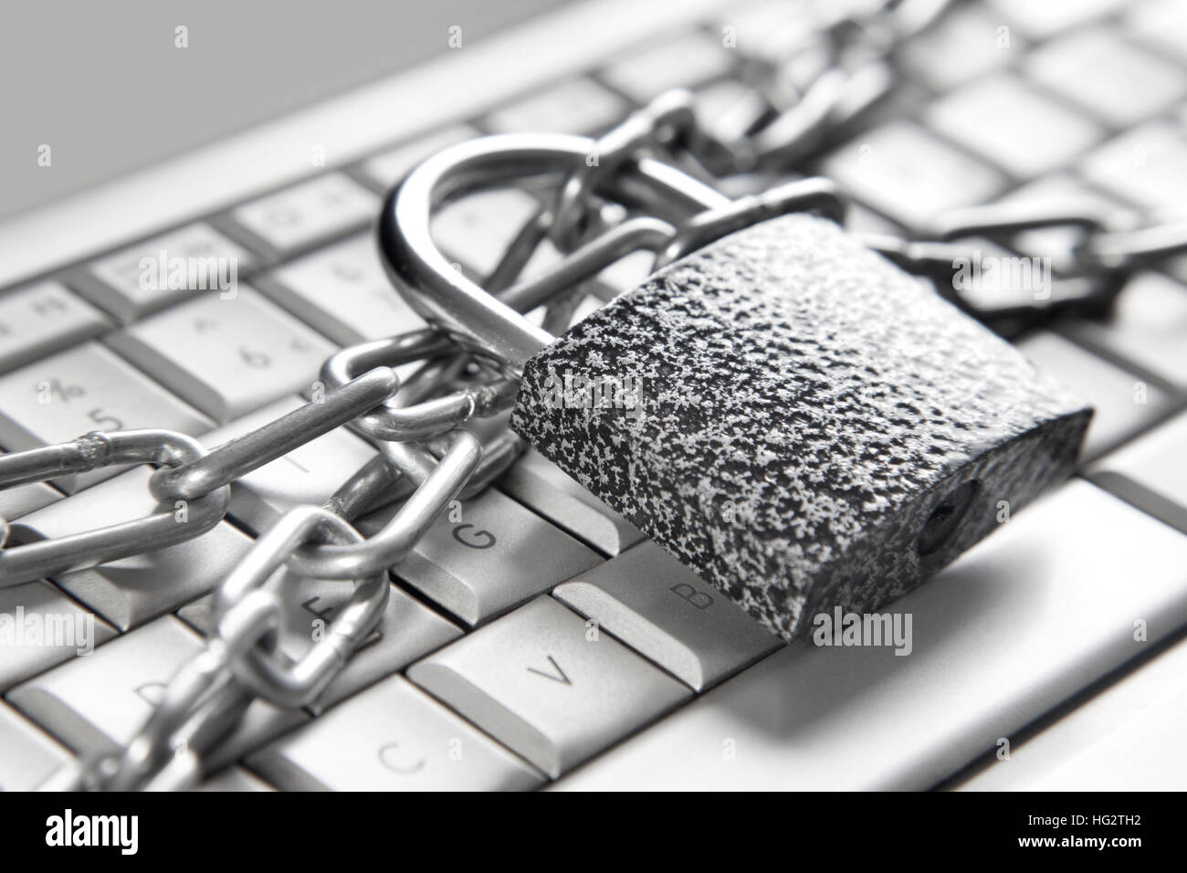 Computer security concept - Stock Image