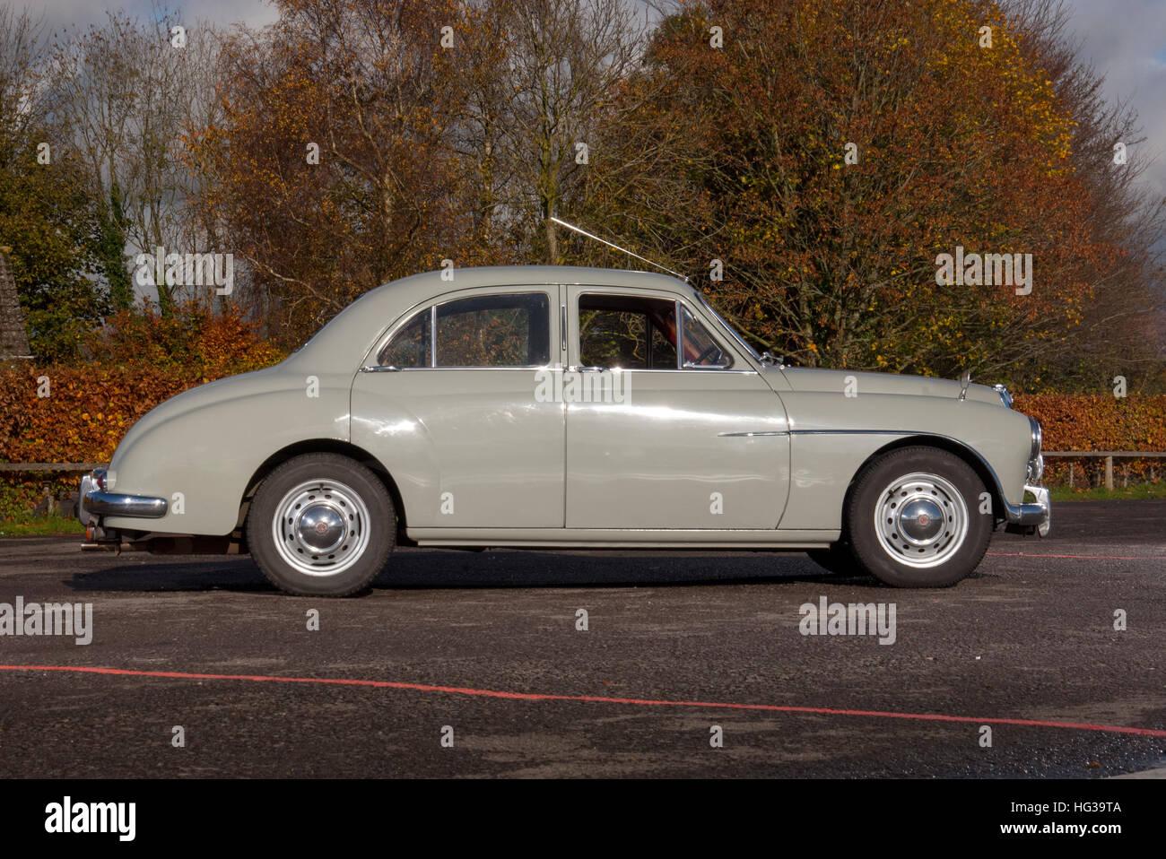 MG Magnette ZA classic British sports saloon car - Stock Image