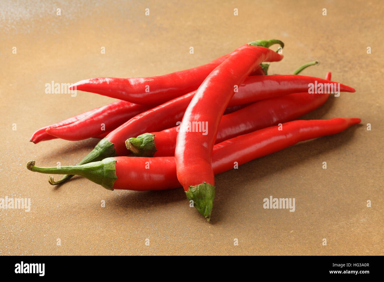 Red chillis - Stock Image