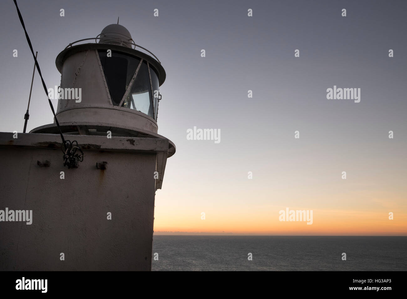The lighthouse at sunset on the Sheeps Head Peninsula County Cork Ireland - Stock Image