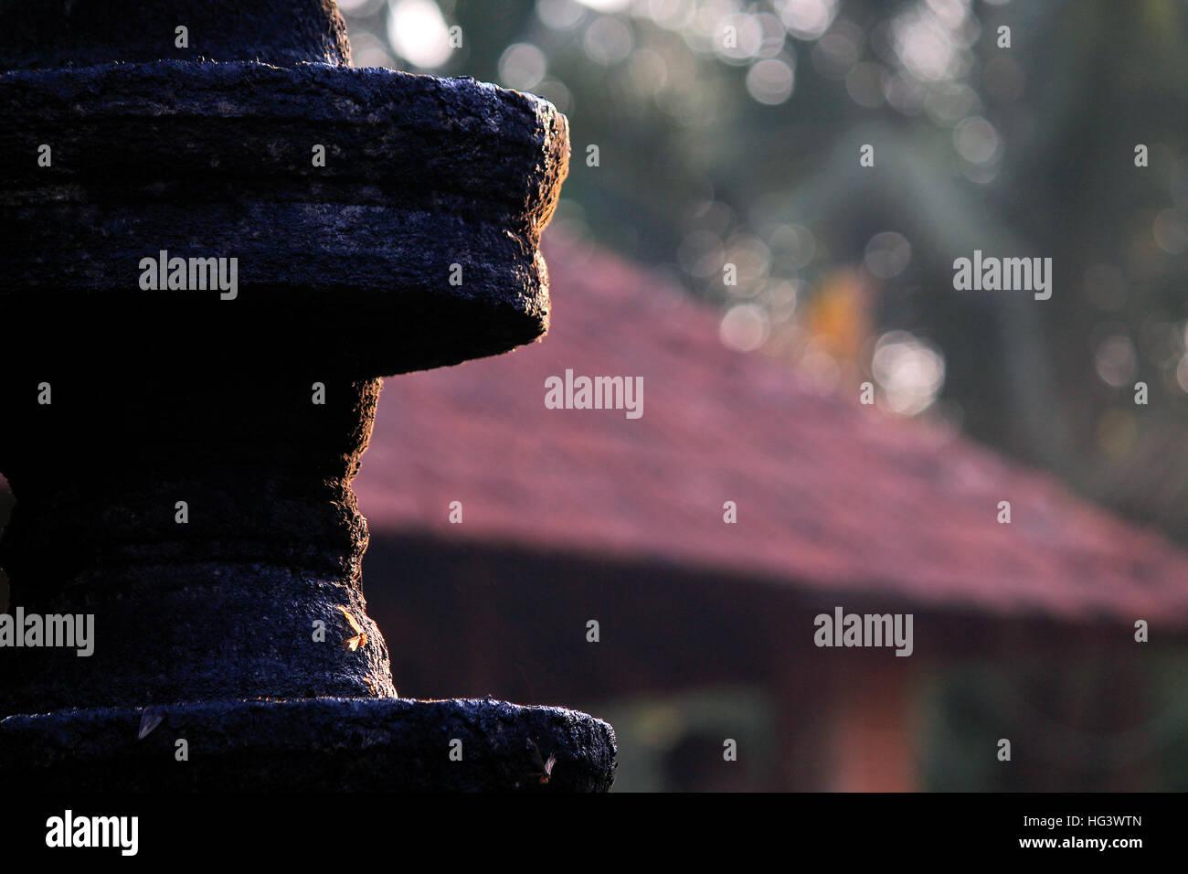 Glowing devotion - Stock Image