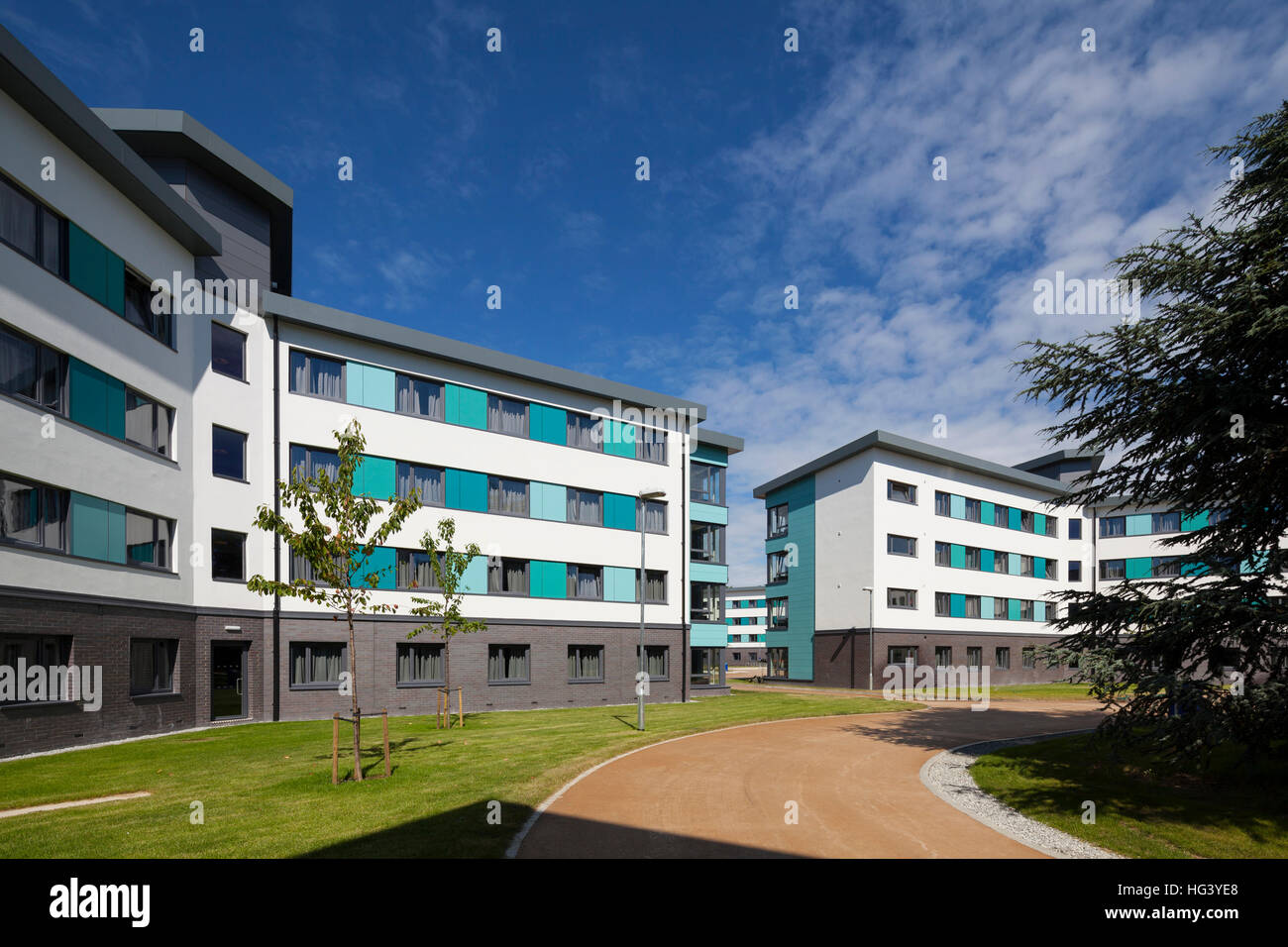 Bridges Hall, University of Reading, Berkshire, UK. On Campus student accommodation with 649 student bedrooms. - Stock Image