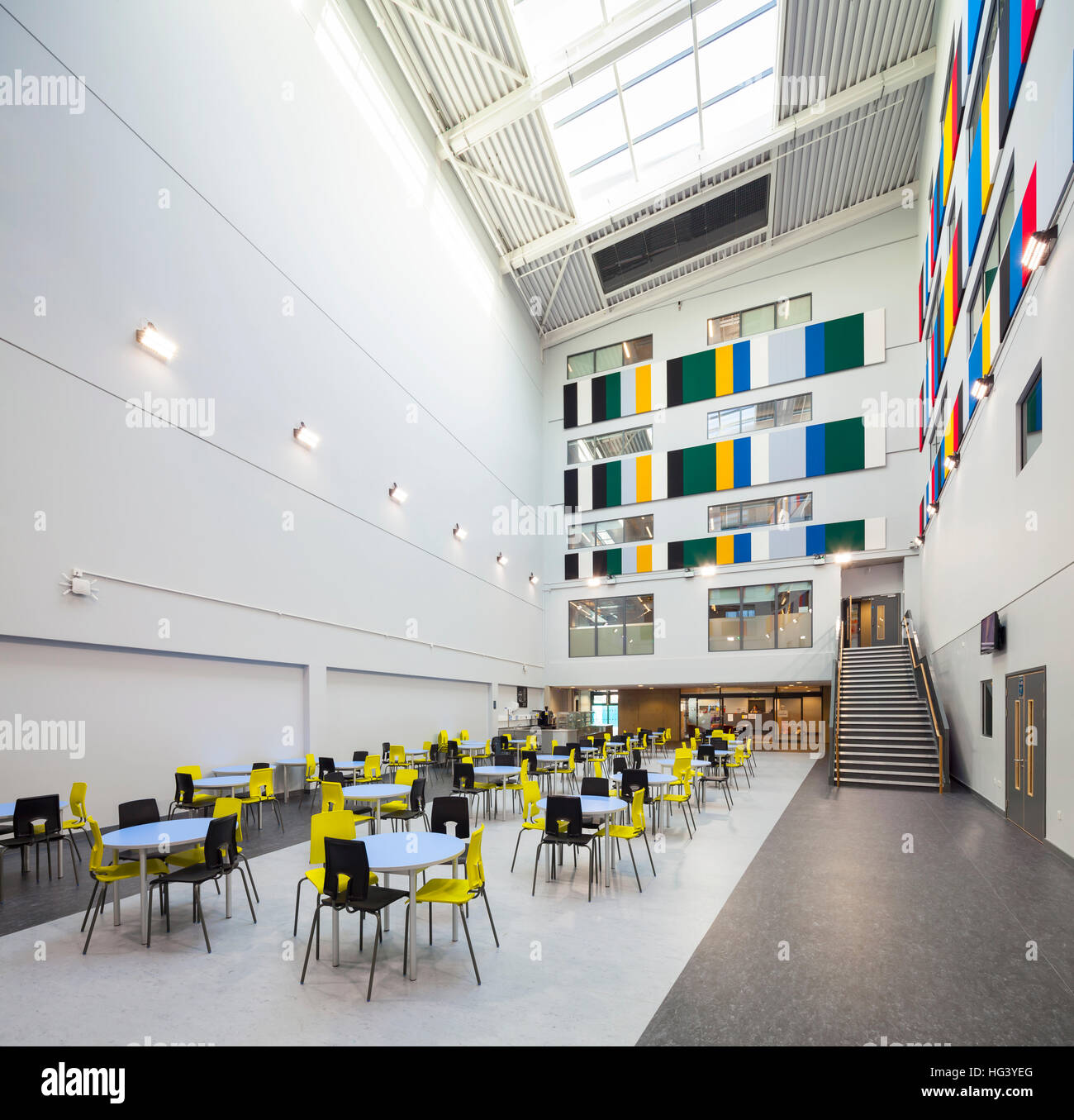 Crest Academy, Brent, London, UK. Two schools, a girls and a boys academy with shared post 16 facilities. - Stock Image