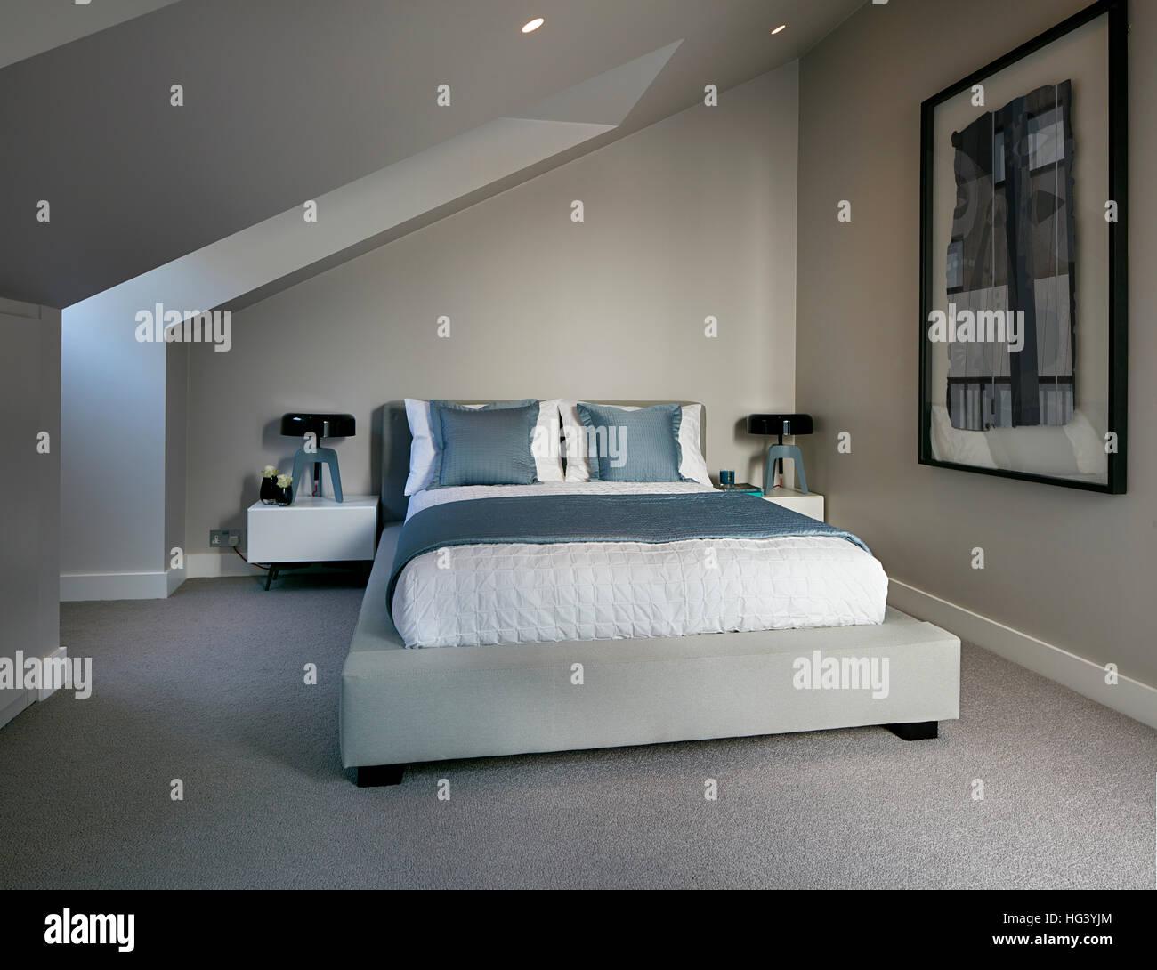 3 Bedroom Apartment Plan 3d Retro Bedroom Furniture Bedroom Interior Color Design Modern Bedroom Lighting Design: Interior Contemporary Bedroom Design Art Stock Photos