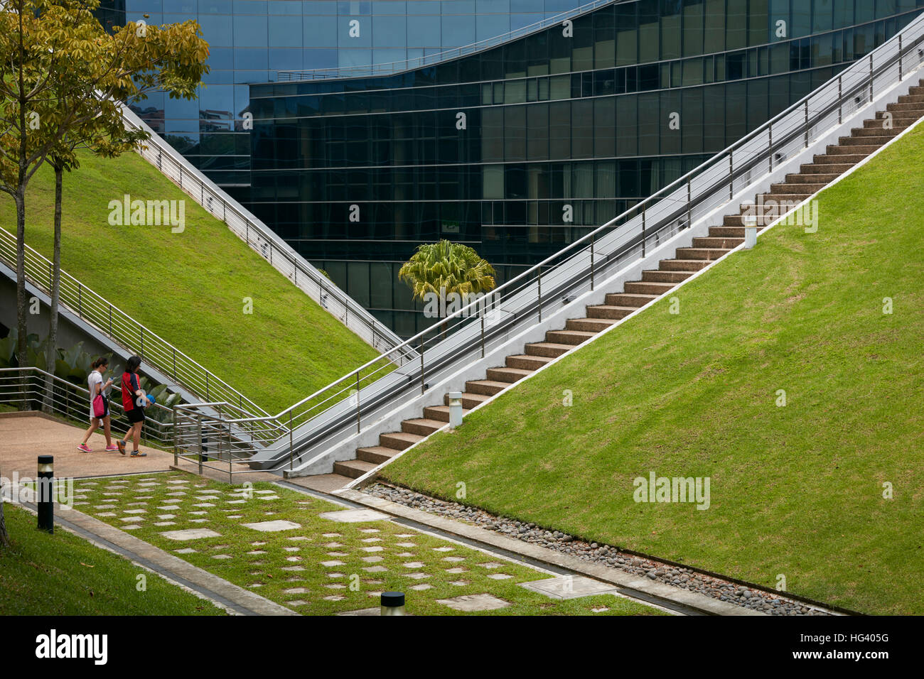 Nanyang Technological University (NTU) School of Art, Design and Media (ADM), Singapore. - Stock Image