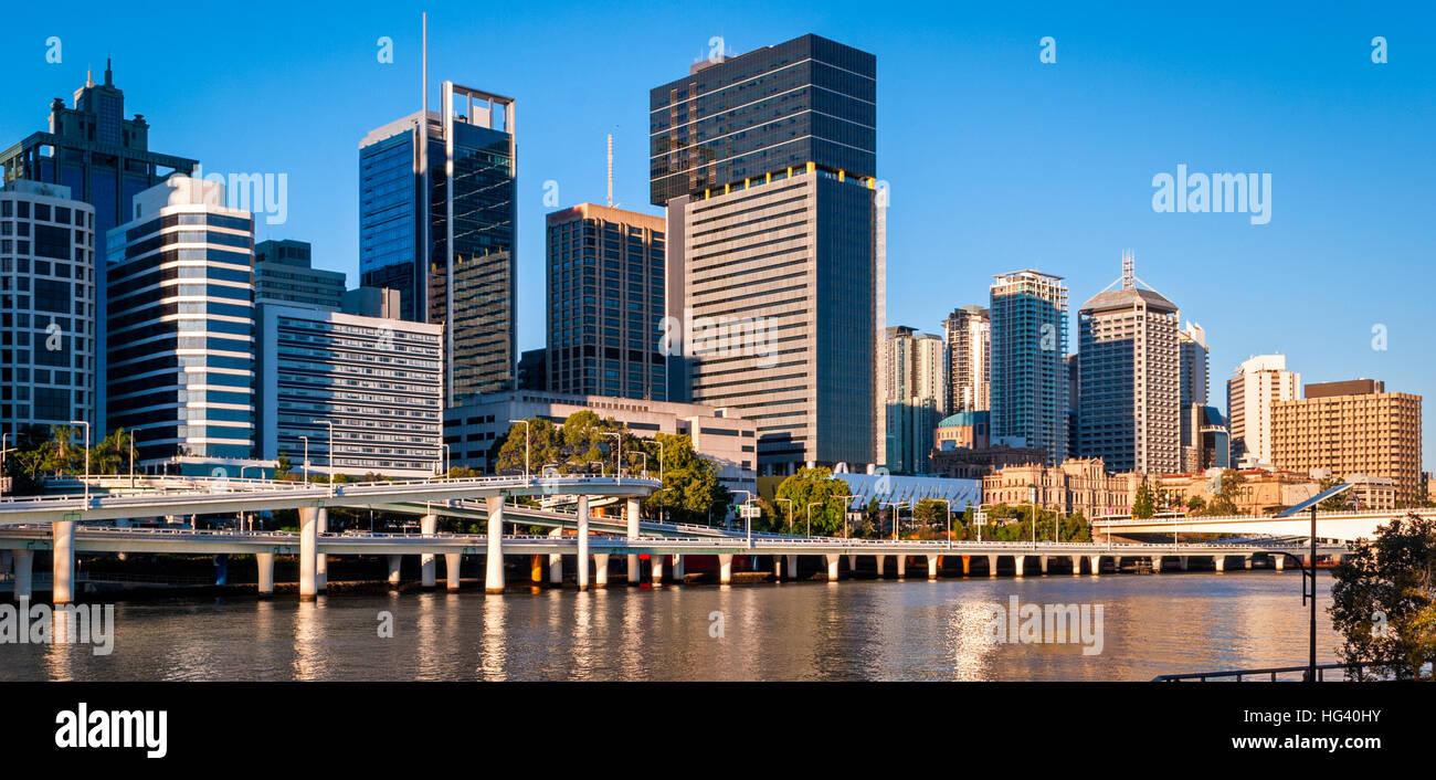 Brisbane skyline, Australia - Stock Image