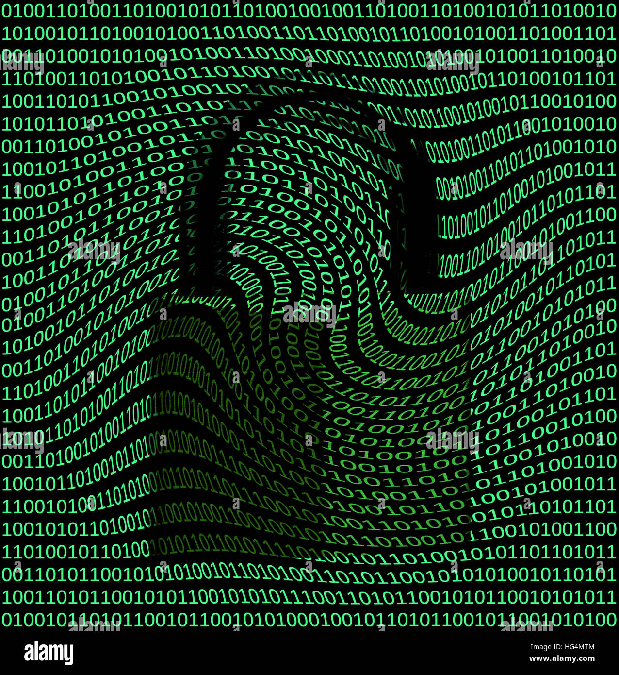 Secure Data. - Stock Image