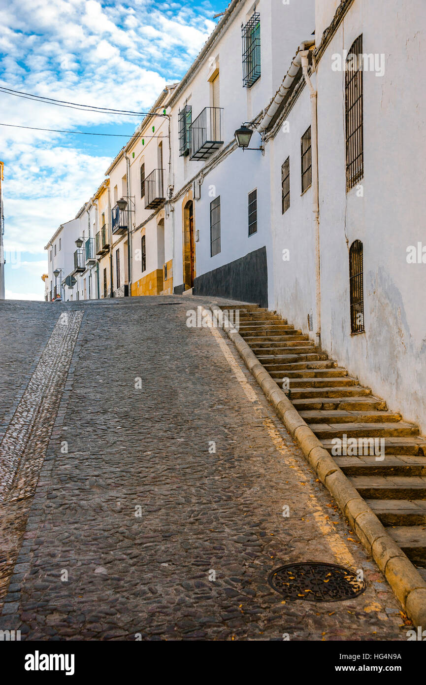 town Ubeda, Zona Monumental, UNESCO world heritage site, Andalusia, province Jaen, Spain - Stock Image