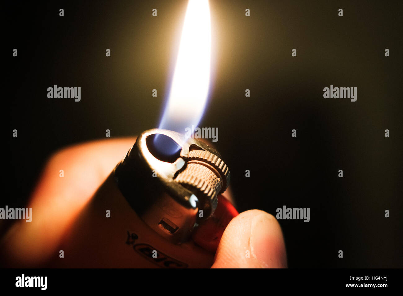 A Lighter - Stock Image