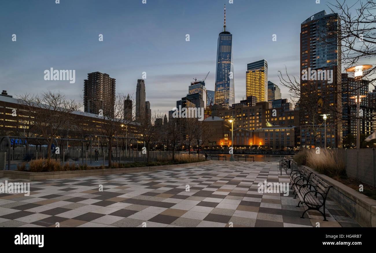 Hudson Park - Stock Image