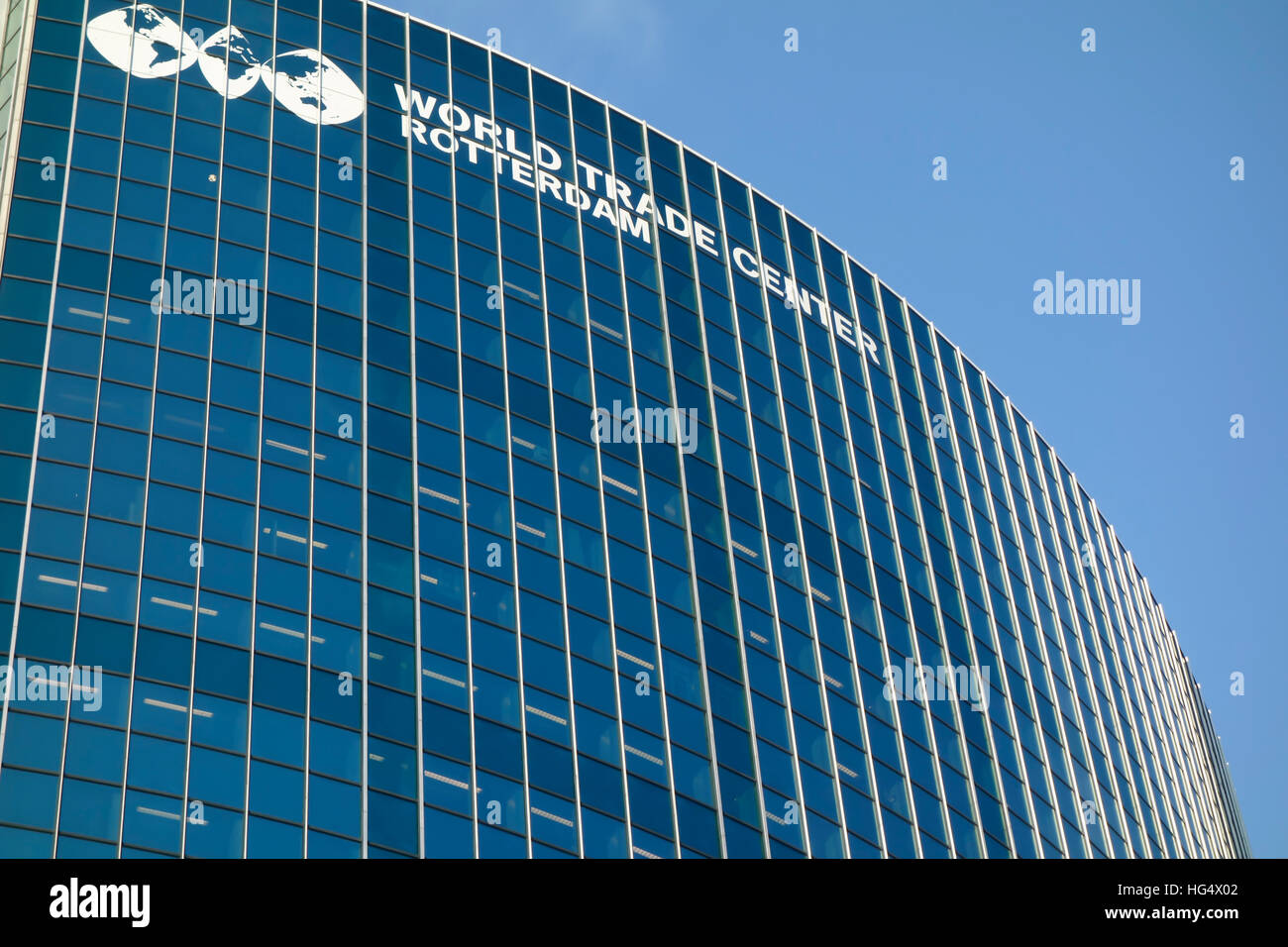 World trade center Rotterdam, Beurs, Rotterdam - Stock Image