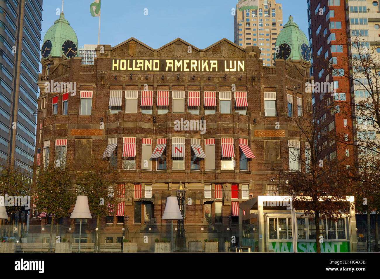 Hotel New York, Holland Amerika Line, Rotterdam, Netherlands - Stock Image