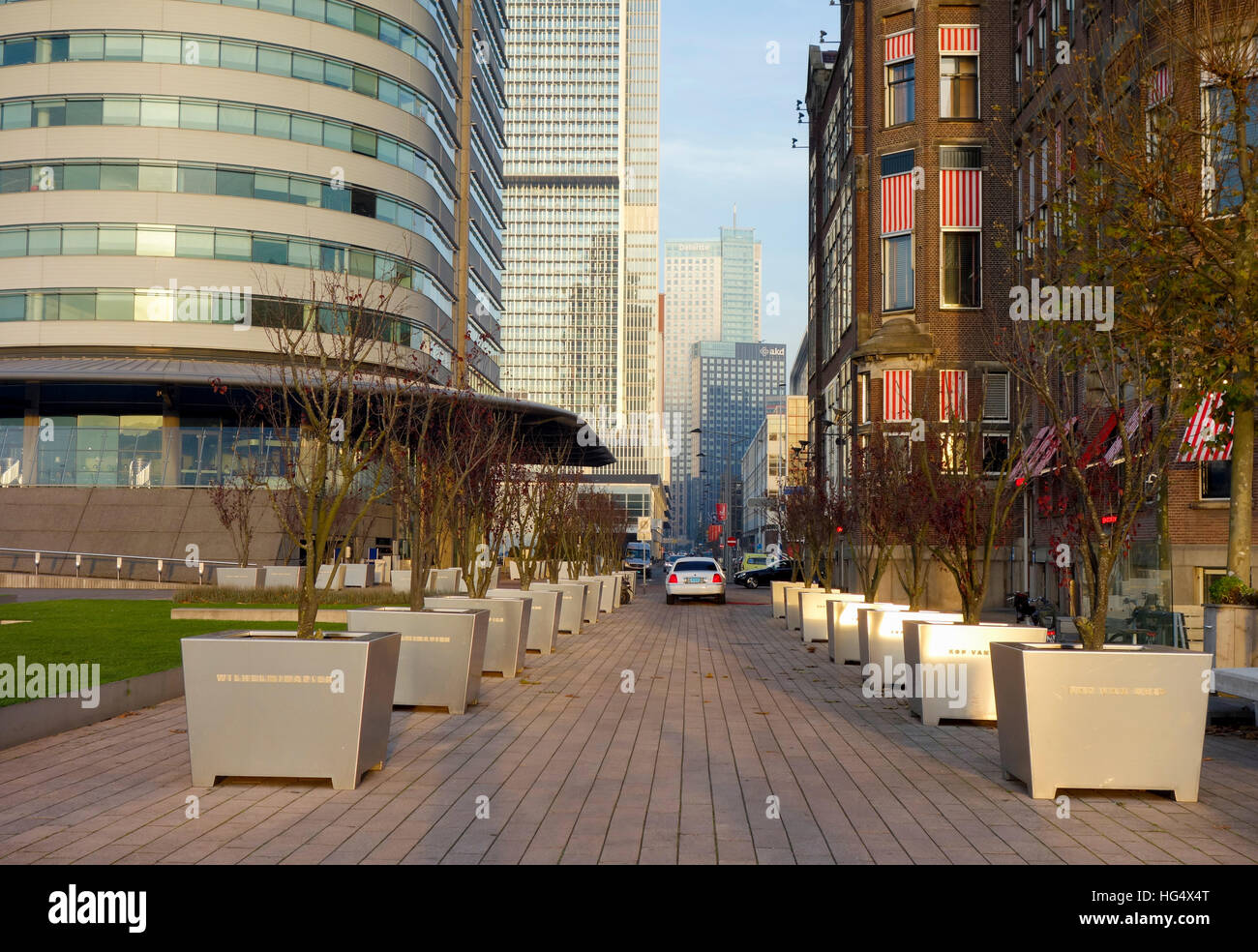 Wilhelminapier, Rotterdam, South Holland, Holland, Netherlands, Europe - Stock Image