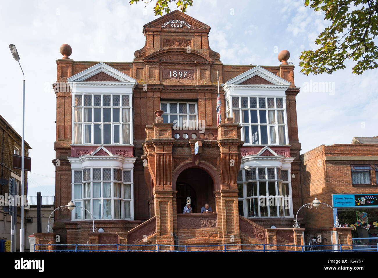 Sheerness Conservative Club, Broadway, Sheerness, Isle of Sheppey, Kent, England, United Kingdom - Stock Image