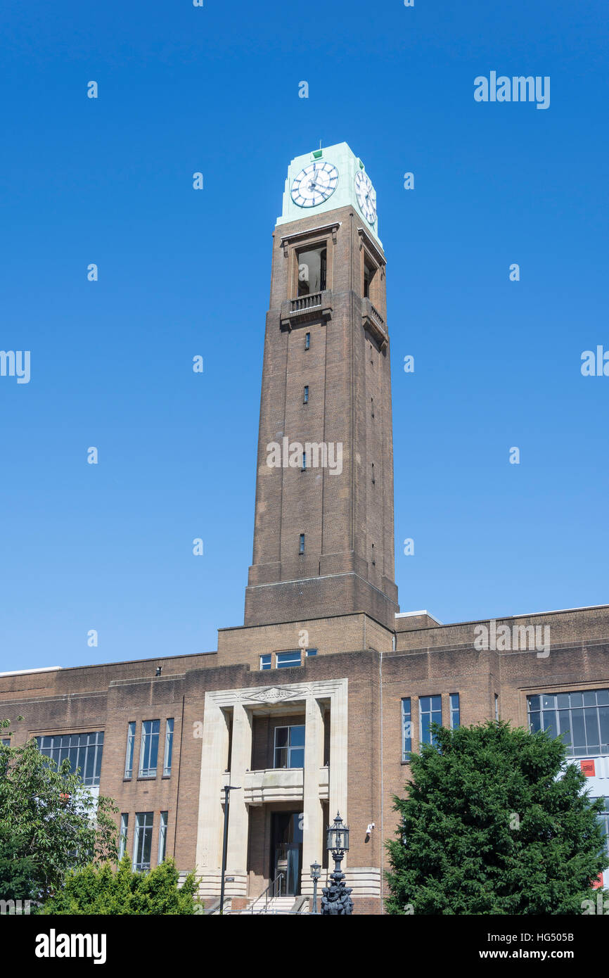 Art Deco Gillette Building, Gillette Corner, Isleworth, London Borough of Hounslow, Greater London, England, United - Stock Image