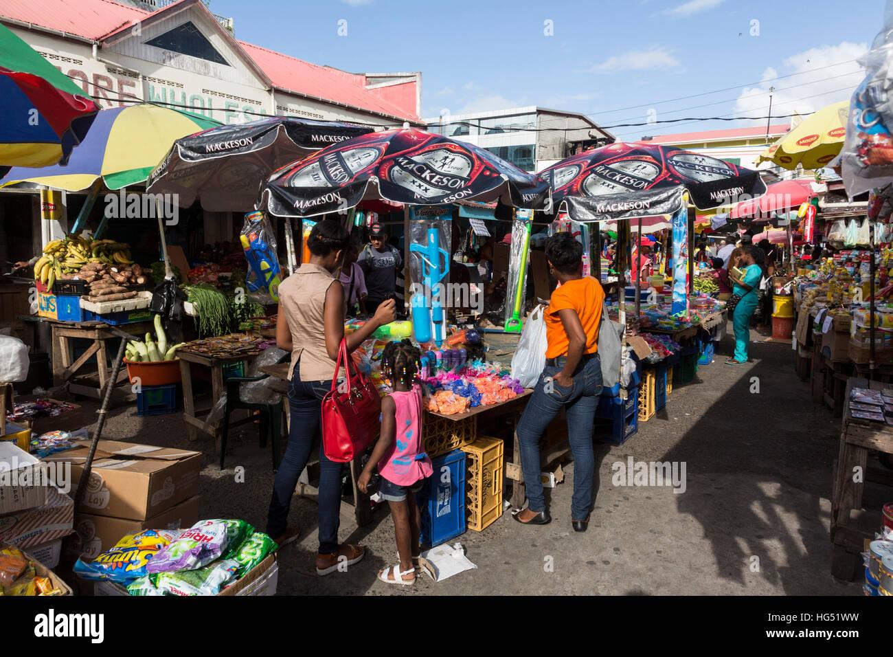 Guyana Georgetown Market Stock Photos & Guyana Georgetown