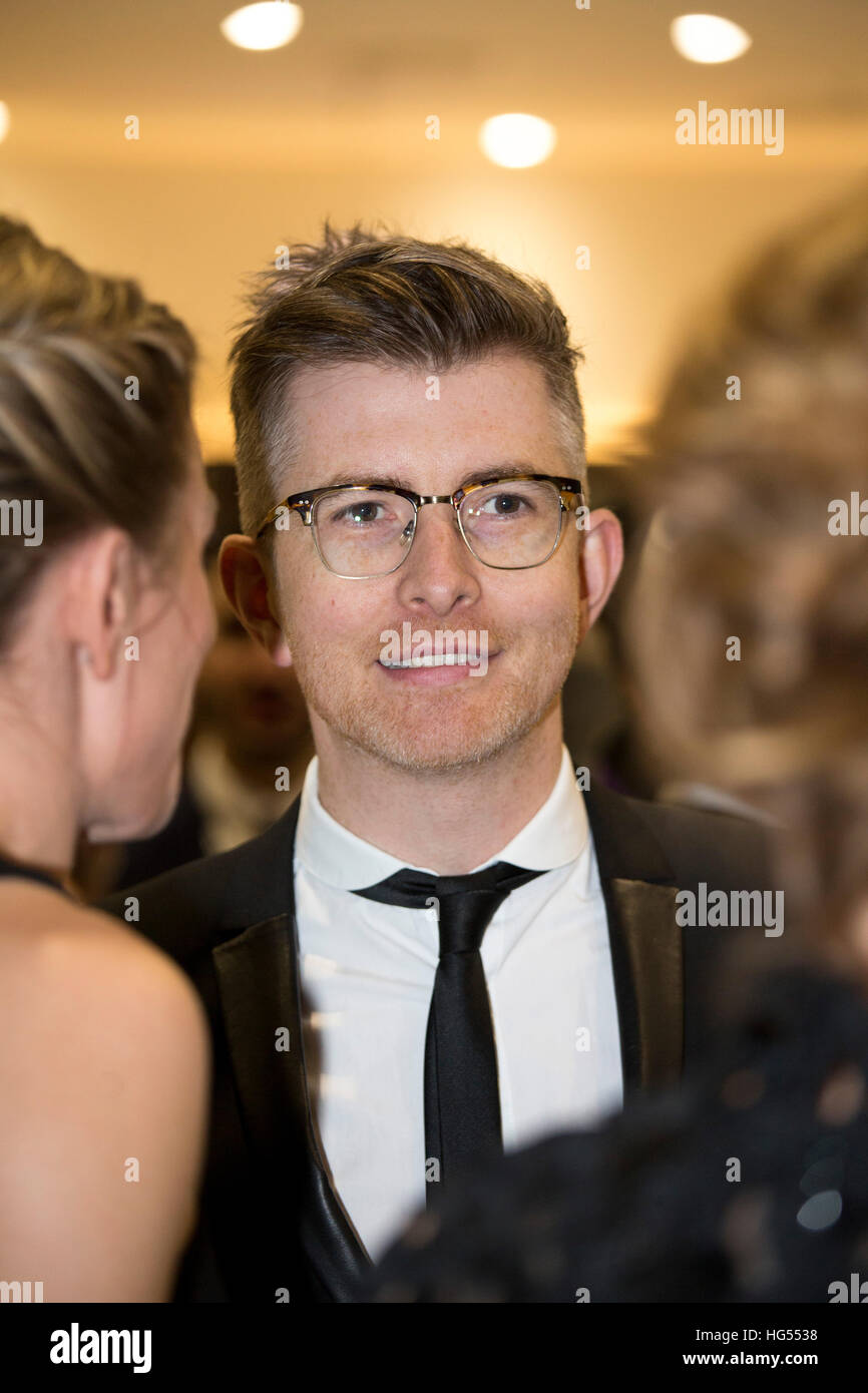 Choirmaster Gareth Malone at the BBC Sports Personality of the Year (SPOTY) awards - Stock Image