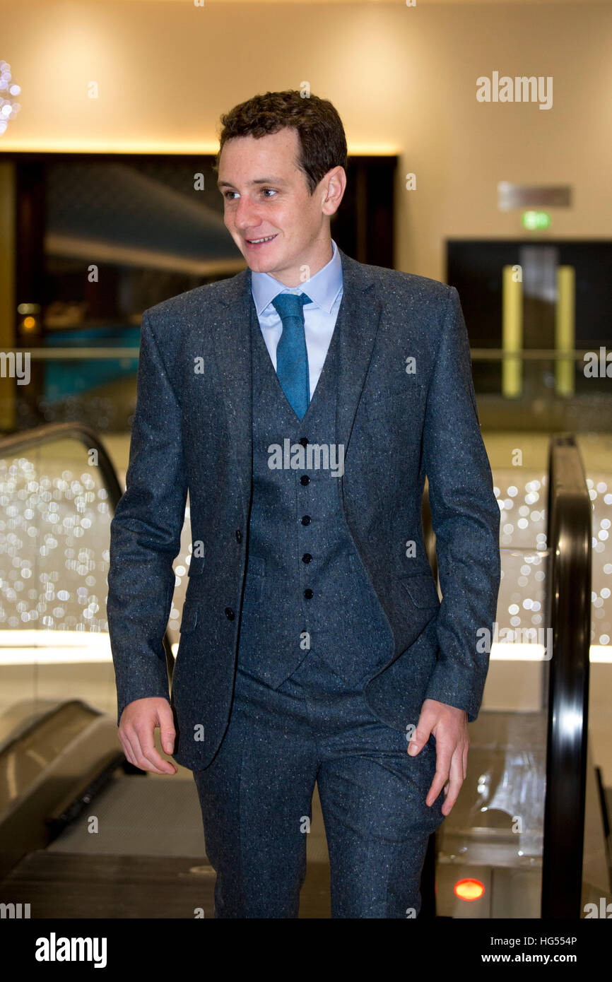 Alistair Brownlee at the BBC Sports Personality of the Year (SPOTY) awards - Stock Image