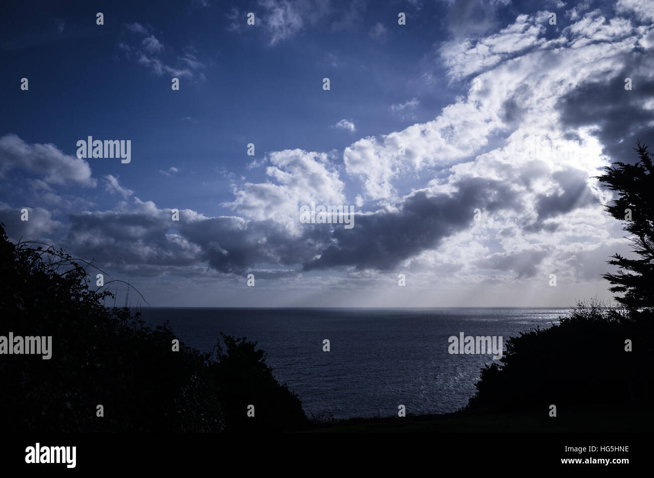 English channel - Stock Image