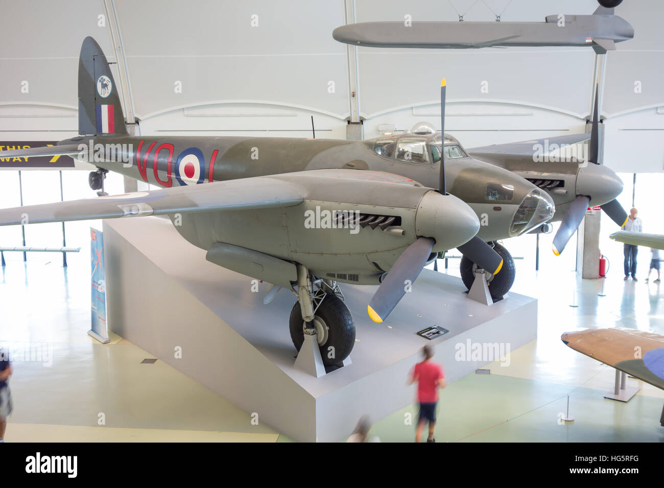 de Havilland Mosquito Fighter bomber - Stock Image