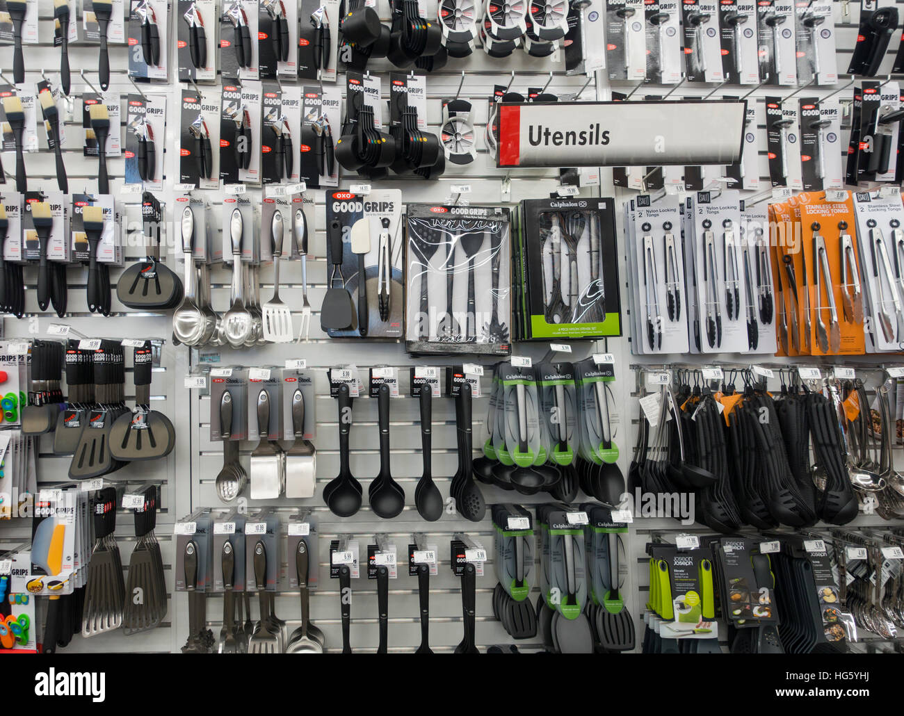 Exceptional OXO Kitchen Utensils Target Store   Stock Image