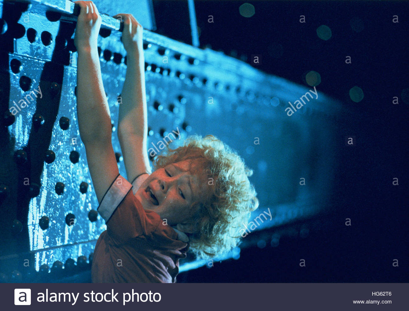 ANNIE (1982) - pictured:  Aileen Quinn Stock Photo