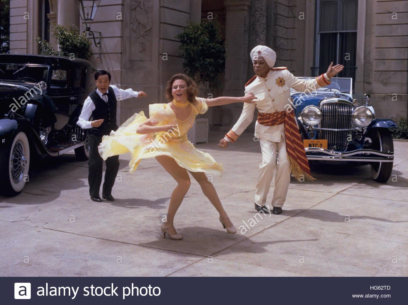 ANNIE (1982) - pictured:  Geoffrey Holder. Stock Photo