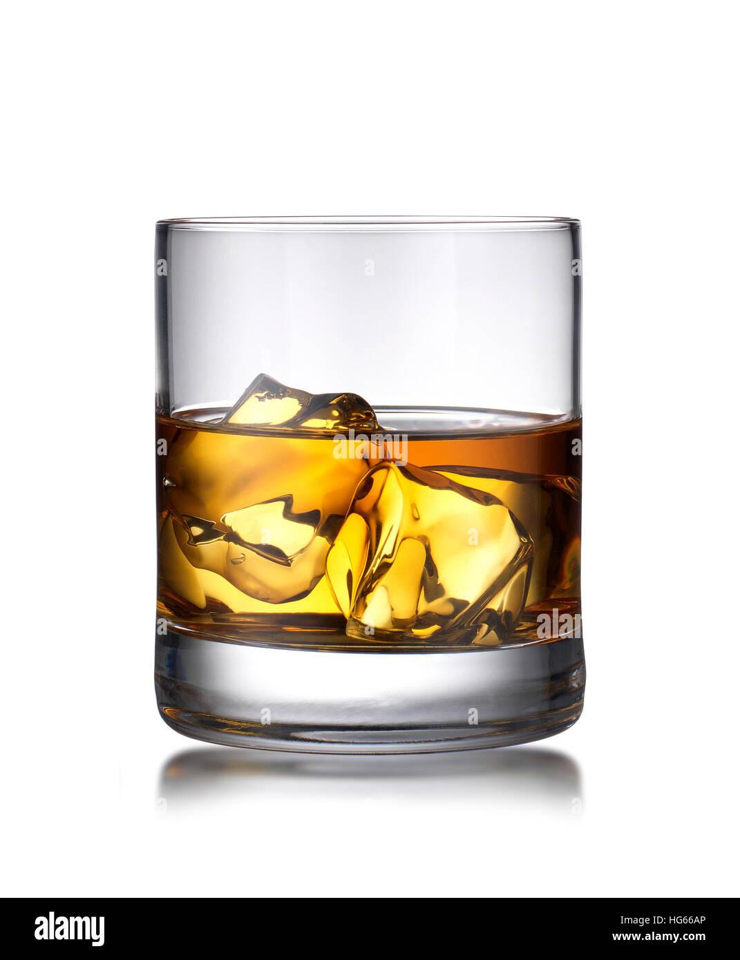 Whiskey tumbler - Stock Image