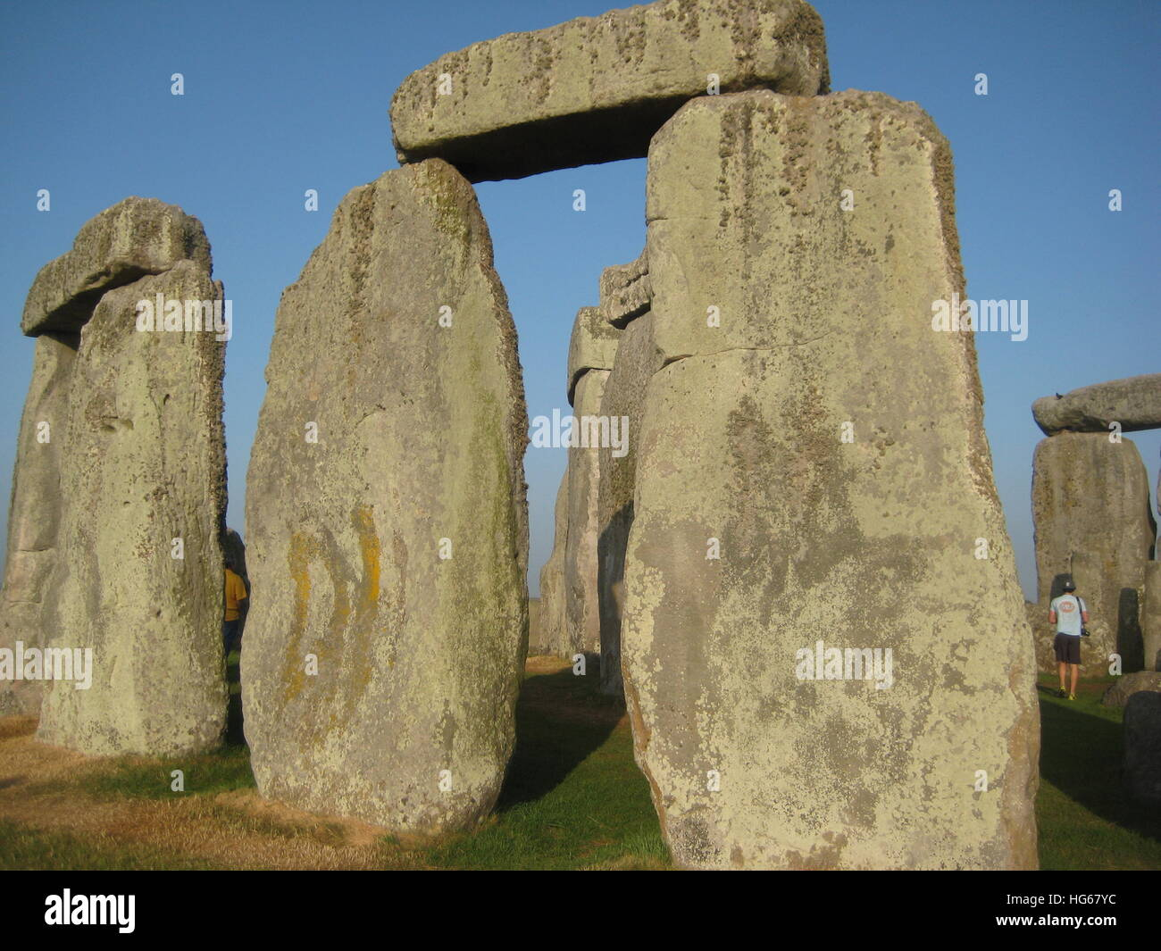 Stonehenge in England Stock Photo