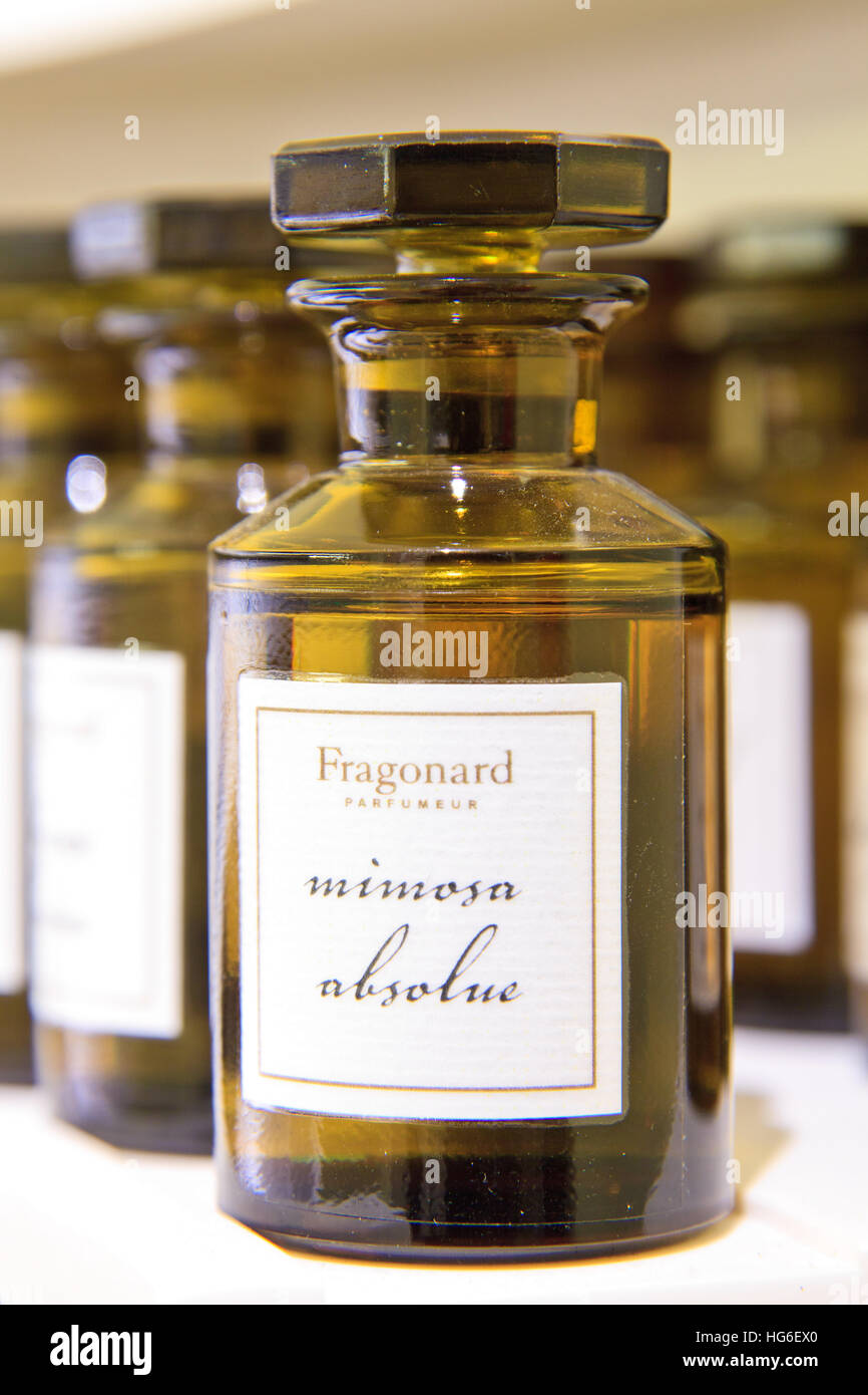 parfumerie fragonard stock photos parfumerie fragonard. Black Bedroom Furniture Sets. Home Design Ideas