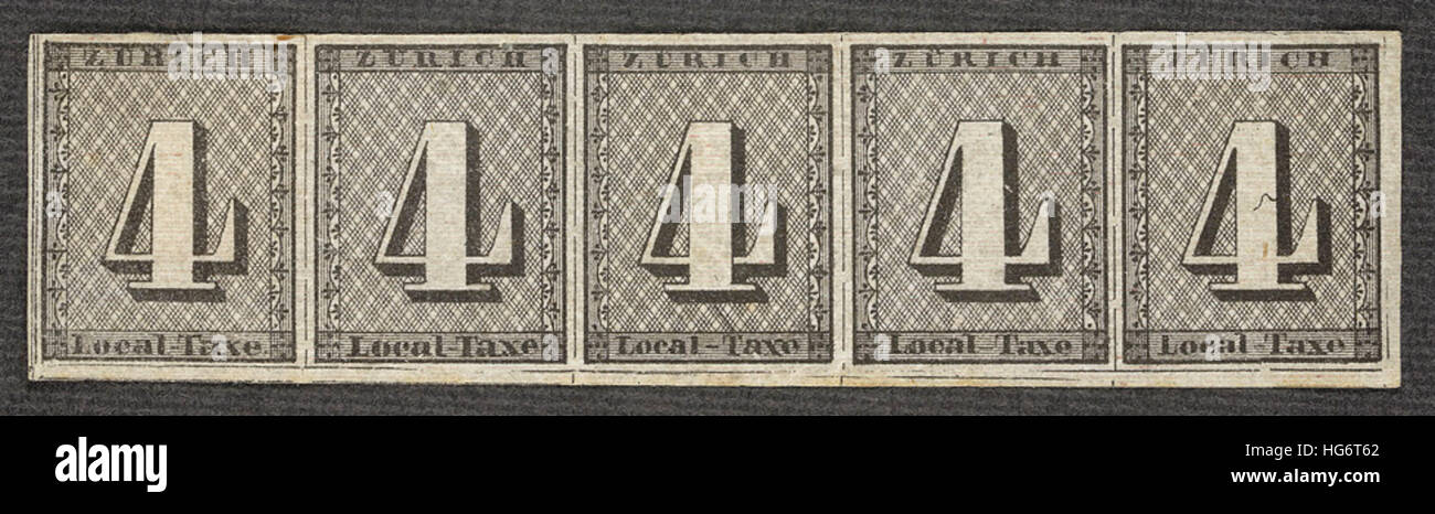 Philatic Rarerities.The British Library's Philatelic Collections - Stock Image