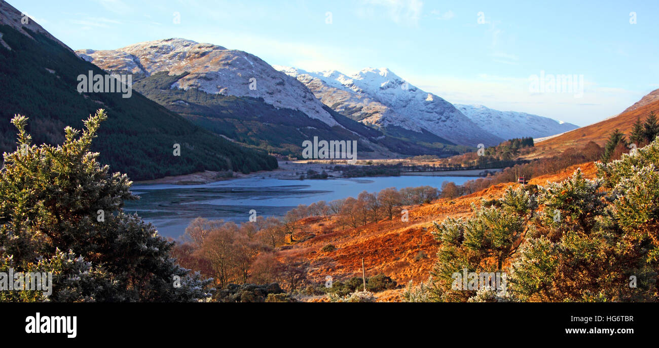 Countryside near Balquhidder,Sterling,Scotland, UK - Rob Roy Red MacGregors resting place - Stock Image
