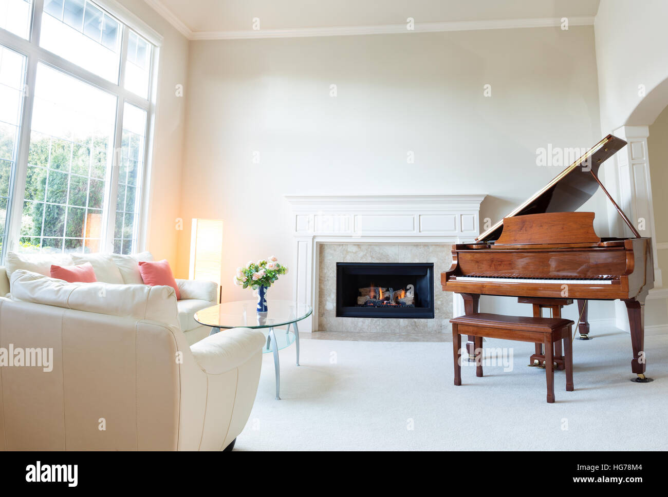 Grand Piano Living Room Stock Photos & Grand Piano Living Room Stock ...