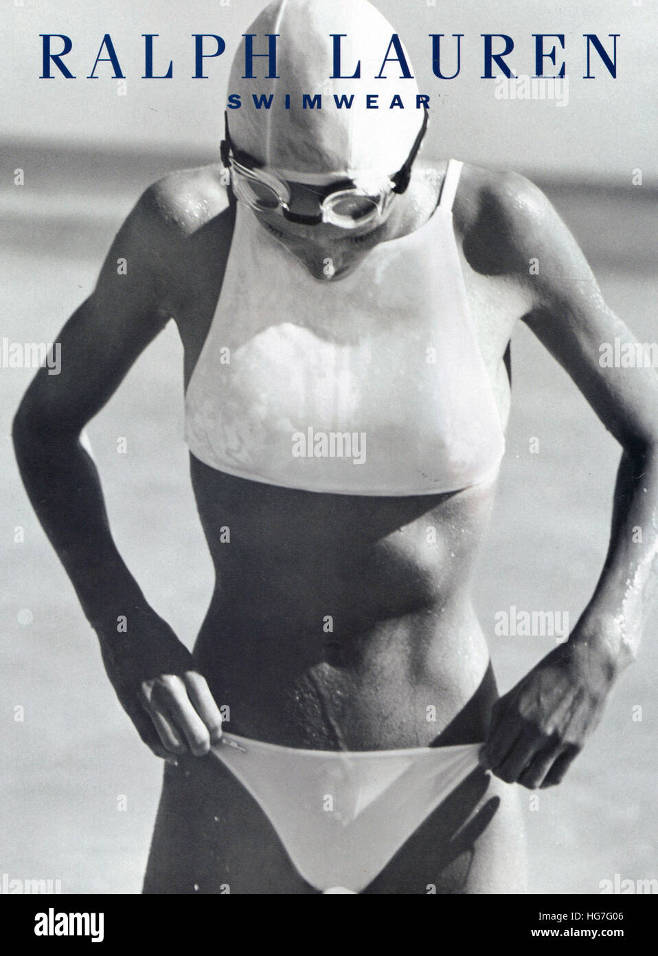 1990s UK Ralph Lauren Magazine Advert - Stock Image