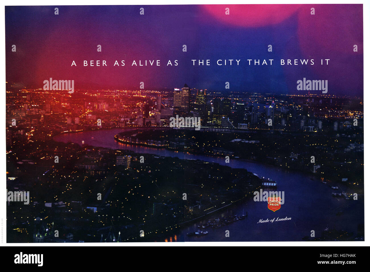 2010s UK London Prise Magazine Advert - Stock Image