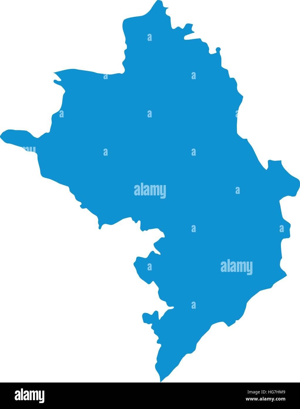 Azerbaijan map - Stock Vector